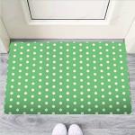 Green Sage Polka Dot Funny Outdoor Indoor Wellcome Funny Outdoor Indoor Wellcome Doormat