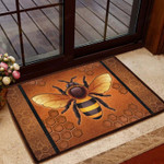 Bee Awesome Doormat  Welcome Mat