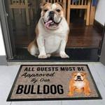 BullDog  Funny Outdoor Indoor Wellcome Doormat - Funny Outdoor Indoor Wellcome Doormat
