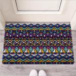 Ethic Aztec Geometric Art Print Funny Outdoor Indoor Wellcome Funny Outdoor Indoor Wellcome Doormat