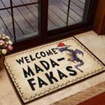 Dragon Santa Claus Welcome Mada-Fakas Doormat  Welcome Mat  House Warming Gift