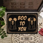 Boo To You All Over Printing Funny Outdoor Indoor Wellcome Doormat