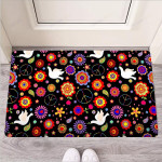 Hippie And Drove Funny Outdoor Indoor Wellcome Funny Outdoor Indoor Wellcome Doormat