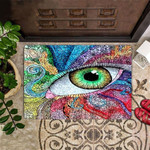 Evil Eye Doormat Color Unique Welcome Mat Indoor Entry Rug Entrance Mat New House Gift Idea