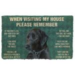 3D Please Remember Doormat