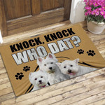Custom Funny Doormat-Knock Doormat For Pet Lovers
