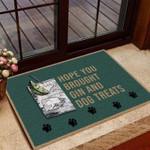 Hope You Brought Gin Funny Outdoor Indoor Wellcome Doormat