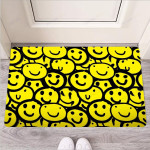 Graffiti Happy Emoji Print Funny Outdoor Indoor Wellcome Funny Outdoor Indoor Wellcome Doormat