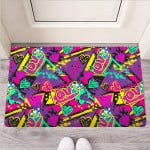 Graffiti Airbrush Love Print Funny Outdoor Indoor Wellcome Funny Outdoor Indoor Wellcome Doormat