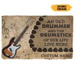3D Bass Guitars Guitars An Old Guitarist Custom Doormat
