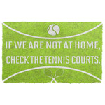 Alohazing 3D Check The Tennis Courts Doormat