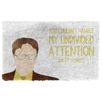 3D The Office Dwight Schrute Custom Doormat