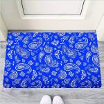 Blue Bandana Funny Outdoor Indoor Wellcome Funny Outdoor Indoor Wellcome Doormat