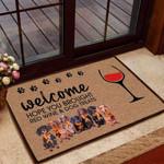 Hope You Brought Red Wine and Dog Treats Funny Outdoor Indoor Wellcome Doormat - Funny Outdoor Indoor Wellcome Doormat