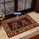 Boxing Funny Outdoor Indoor Wellcome Doormat