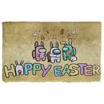 3D Happy Easter Among Us Doormat