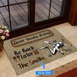 Gone Scuba diving Funny Outdoor Indoor Wellcome Doormat