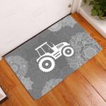 Amazing Farmer Doormat  Welcome Mat
