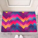 Abstract Geometric Grunge Funny Outdoor Indoor Wellcome Funny Outdoor Indoor Wellcome Doormat