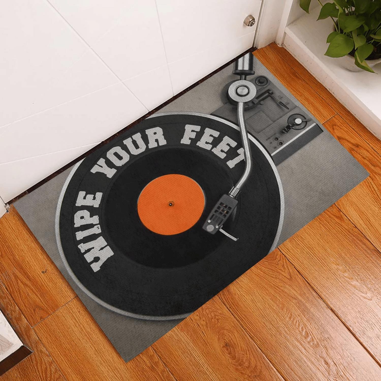 Door Mat DJ Wipe Your Feet