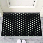 Black And White Polka Dot Funny Outdoor Indoor Wellcome Funny Outdoor Indoor Wellcome Doormat