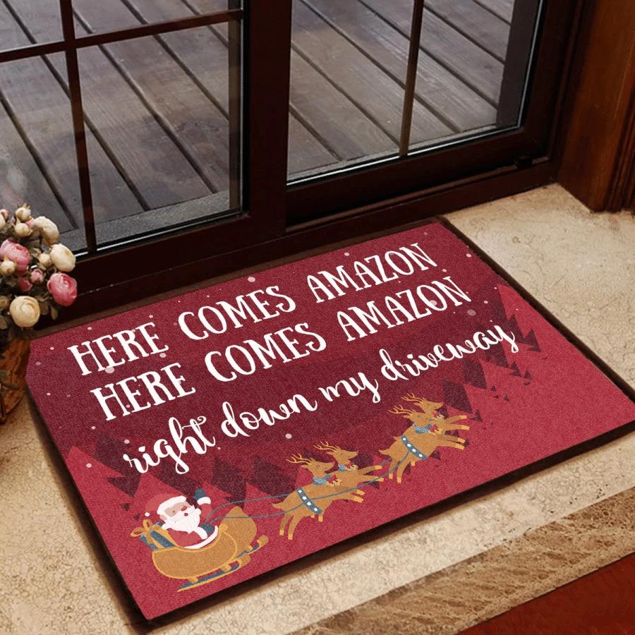 Funny Door mat Christmas Gift