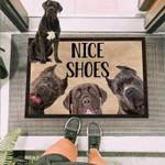 Cane Corso Dog Funny Outdoor Indoor Wellcome Doormat