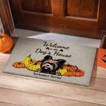 Dogs House Yorkshire Terrier Funny Outdoor Indoor Wellcome Doormat