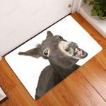 Amazing Donkey Doormat  Welcome Mat