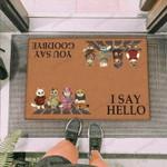Cozy Cats Funny Outdoor Indoor Wellcome Doormat