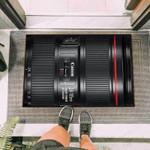Camera Canon 24-105mm Lens Funny Outdoor Indoor Wellcome Doormat