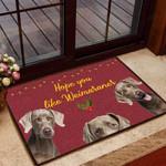 Hope you like Weimaraners Dog Funny Outdoor Indoor Wellcome Doormat