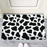 Cow Print Funny Outdoor Indoor Wellcome Funny Outdoor Indoor Wellcome Doormat