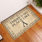 Lovers  Door Mat Theres No Place Like