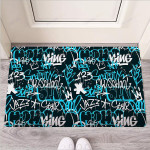 Hiphop Airbrush Print Funny Outdoor Indoor Wellcome Funny Outdoor Indoor Wellcome Doormat