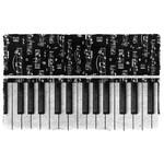 3D Piano Key Doormat