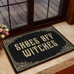 Lovers  Door Mat Shoes Off Witches