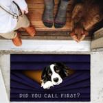 Border Collie Funny Outdoor Indoor Wellcome Doormat