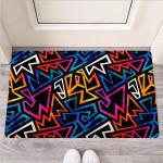 Geometric Print Funny Outdoor Indoor Wellcome Funny Outdoor Indoor Wellcome Doormat