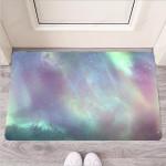 Green Galaxy Space Funny Outdoor Indoor Wellcome Funny Outdoor Indoor Wellcome Doormat