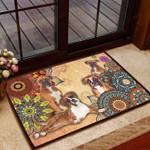 Amazing Boxer Dog Doormat  Welcome Mat