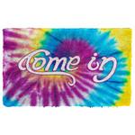 Alohazing 3D Come In Go Away Hippie Doormat