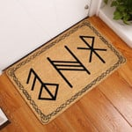Lovers  Door Mat Viking Coir Pattern