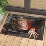 Freddy Krueger Doormat  Halloween Mat  Welcome Mat  House Warming Gift