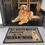 Golden Retriever Dog Funny Outdoor Indoor Wellcome Doormat - Funny Outdoor Indoor Wellcome Doormat