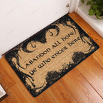 Abanoon All Hope All Over Printing Funny Outdoor Indoor Wellcome Doormat