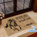 Horse Racing Be Back Later Funny Outdoor Indoor Wellcome Doormat