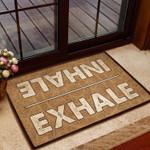 Lovers  Door Mat Inhale-Exhale