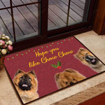 Hope you like chow chow Dog Funny Outdoor Indoor Wellcome Doormat