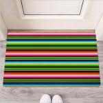 Baja Mexican Print Funny Outdoor Indoor Wellcome Funny Outdoor Indoor Wellcome Doormat